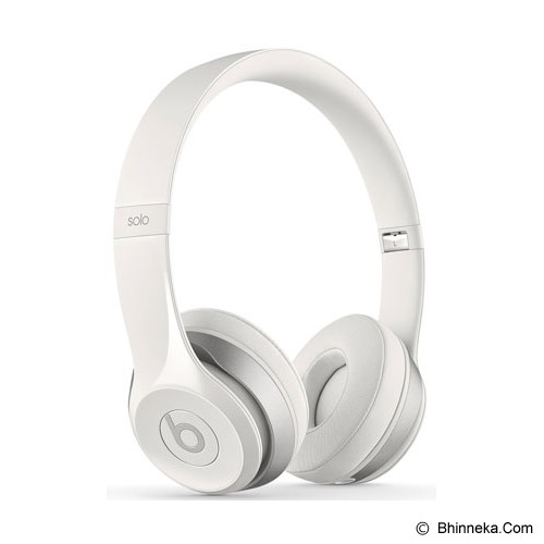 BEATS™ BY DRE™ Solo 2 On-Ear Headphone [MH8X2PA/A] - White - Headphone Portable